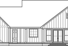 House Plan Design - Optional Rear Garage