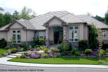House Plan Design - Mediterranean Photo Plan #48-425