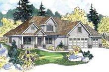 Farmhouse Exterior - Front Elevation Plan #124-517