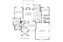 Farmhouse Floor Plan - Main Floor Plan Plan #927-1003