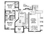 European Style House Plan - 4 Beds 3.5 Baths 2713 Sq/Ft Plan #310-698 Floor Plan - Upper Floor