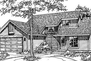 Traditional Exterior - Front Elevation Plan #320-379
