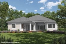 Ranch Exterior - Rear Elevation Plan #930-470