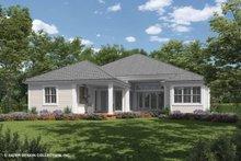 House Plan Design - Ranch Exterior - Rear Elevation Plan #930-470