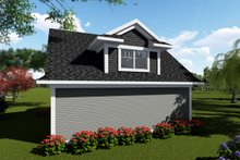 House Plan Design - Traditional Exterior - Rear Elevation Plan #70-1408
