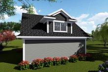 House Plan Design - Traditional Exterior - Rear Elevation Plan #70-1408