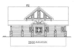 Craftsman Exterior - Front Elevation Plan #117-692