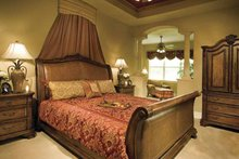Home Plan - European Interior - Master Bedroom Plan #930-361