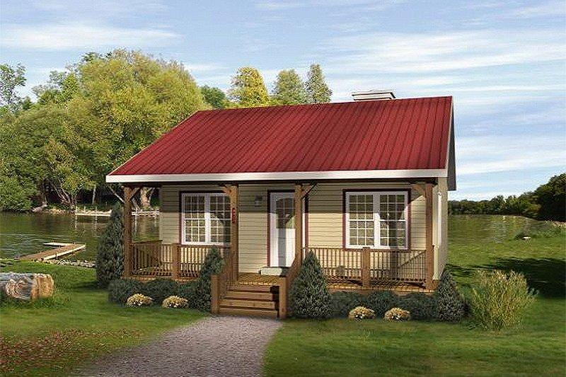 House Design - Cottage Exterior - Front Elevation Plan #22-122