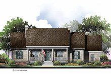 Architectural House Design - Country Exterior - Front Elevation Plan #952-279