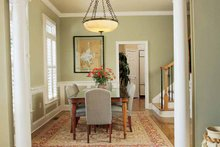 Architectural House Design - Country Interior - Dining Room Plan #37-242