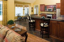 Dream House Plan - Country Interior - Kitchen Plan #929-425