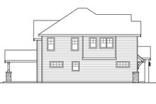 Dream House Plan - Traditional Exterior - Other Elevation Plan #124-1033