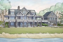 House Design - Traditional Exterior - Rear Elevation Plan #928-262