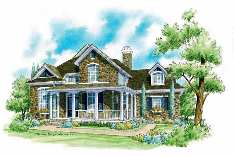 Country Exterior - Front Elevation Plan #930-202 - Houseplans.com