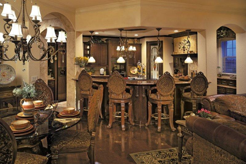 Mediterranean Interior - Kitchen Plan #930-355 - Houseplans.com