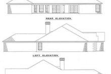 Home Plan - European Exterior - Rear Elevation Plan #17-135