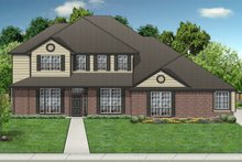 Country Exterior - Front Elevation Plan #84-420