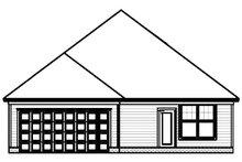 Contemporary Exterior - Rear Elevation Plan #999-155