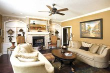 Country Interior - Family Room Plan #17-3283
