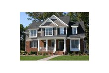 Architectural House Design - Country Exterior - Front Elevation Plan #927-631