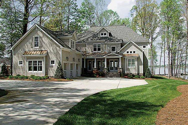 Dream House Plan - Craftsman Exterior - Front Elevation Plan #453-314