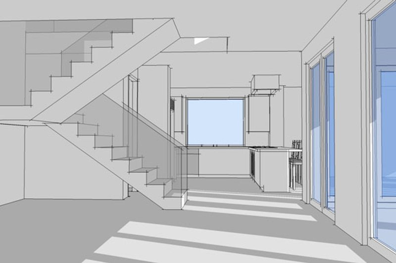Contemporary Interior - Other Plan #64-307 - Houseplans.com
