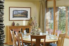 Architectural House Design - Ranch Interior - Dining Room Plan #48-433