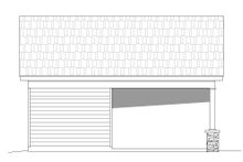 Country Exterior - Other Elevation Plan #932-110