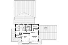 Prairie Floor Plan - Upper Floor Plan Plan #1042-18