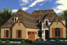 House Plan Design - European Exterior - Front Elevation Plan #453-636