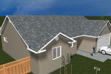 House Plan Design - Ranch Exterior - Front Elevation Plan #1060-36