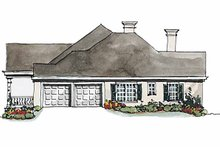 House Plan Design - Classical Exterior - Other Elevation Plan #429-174