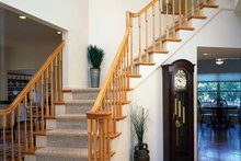 Dream House Plan - Country Interior - Entry Plan #314-201