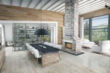 Contemporary Interior - Dining Room Plan #924-1