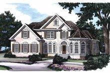 House Design - Mediterranean Exterior - Front Elevation Plan #927-386