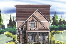 Craftsman Exterior - Front Elevation Plan #509-227