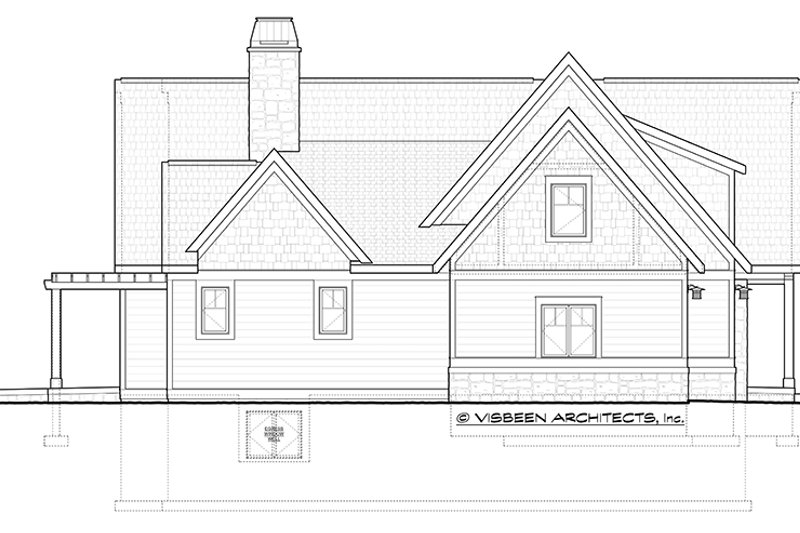 Craftsman Exterior - Other Elevation Plan #928-228 - Houseplans.com