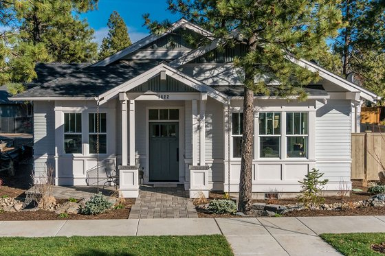 Craftsman Exterior - Other Elevation Plan #895-56