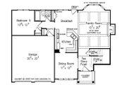 Colonial Style House Plan - 5 Beds 3 Baths 2361 Sq/Ft Plan #927-21 Floor Plan - Main Floor Plan
