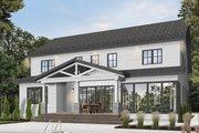 Farmhouse Style House Plan - 5 Beds 4.5 Baths 3497 Sq/Ft Plan #23-2686 Exterior - Rear Elevation