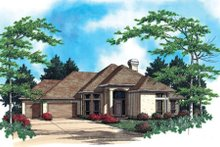Mediterranean Exterior - Other Elevation Plan #48-295