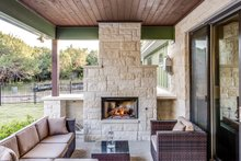 Craftsman Exterior - Outdoor Living Plan #935-12