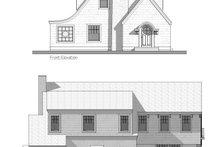 Cottage Exterior - Front Elevation Plan #481-10