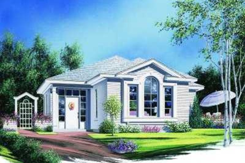 Traditional Exterior - Front Elevation Plan #23-318