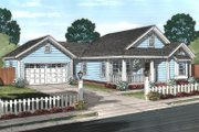 House Plan - 3 Beds 2 Baths 1426 Sq/Ft Plan #513-2069 Exterior - Front Elevation