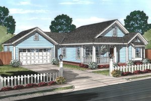 Exterior - Front Elevation Plan #513-2069