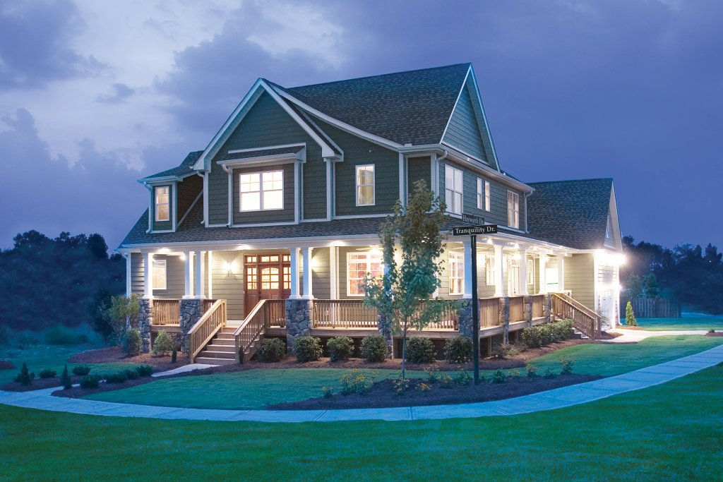 Country style house plan 4 beds 2 5 baths 2490 sq ft for Craftsman style homes for sale in maryland