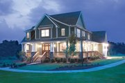 Country Style House Plan - 4 Beds 2.5 Baths 2490 Sq/Ft Plan #929-19 Exterior - Front Elevation