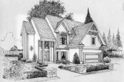 Traditional Style House Plan - 4 Beds 2.5 Baths 2384 Sq/Ft Plan #6-129